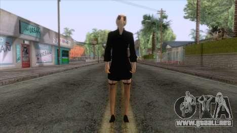 Female Sweater One Piece v2 para GTA San Andreas tercera pantalla