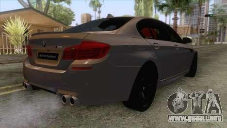 BMW M5 F10 Nighthawk para la visión correcta GTA San Andreas