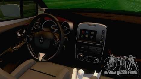 Renault Captur para visión interna GTA San Andreas