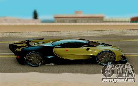 Bugatti Vision G para la visión correcta GTA San Andreas
