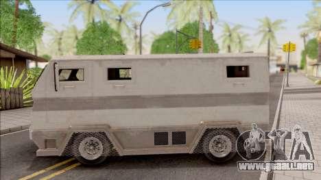 GTA EFLC HVY Brickade para GTA San Andreas left