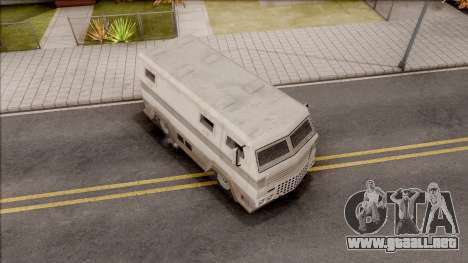 GTA EFLC HVY Brickade para la visión correcta GTA San Andreas