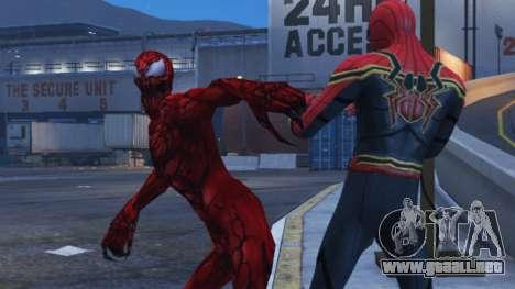 GTA 5 Carnage (Marvel Future Fight) [ADD-ON] 2.0 cuarto captura de pantalla