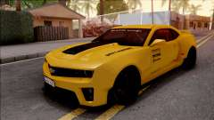 Chevrolet Camaro ZL1 Ngasal Works Kit para GTA San Andreas