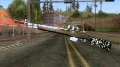 De Armas Cebras - Rifle para GTA San Andreas