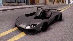Lamborghini Aventador J-Kart para GTA San Andreas