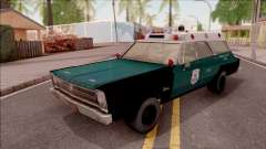 Plymouth Belvedere Station Wagon 1965 NYPD Final para GTA San Andreas