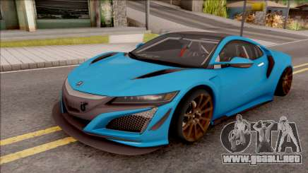 Acura NSX 2017 Stock Beta para GTA San Andreas