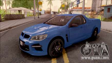 HSV Limited Edition GEN-F GTS Maloo 2014 v2 para GTA San Andreas