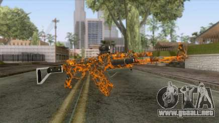 CoD: Black Ops II - AK-47 Lava Skin v1 para GTA San Andreas