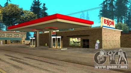 Exxon Gas Station para GTA San Andreas