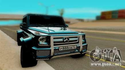 Mersedes Benz G65 6x6 para GTA San Andreas
