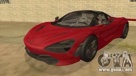 2017 McLaren 720S para GTA San Andreas