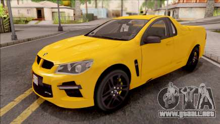 HSV Limited Edition GEN-F GTS Maloo v1 2014 para GTA San Andreas