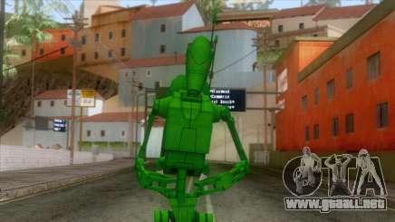 Star Wars - Toxic Droid Skin para GTA San Andreas