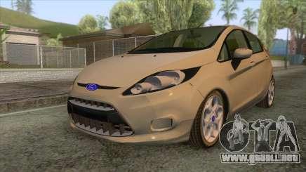 Ford Fiesta Trend para GTA San Andreas