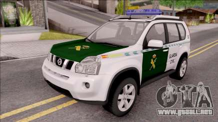 Nissan X-Trail Guardia Civil Spanish para GTA San Andreas