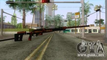 Warface - Orsis T-5000 para GTA San Andreas