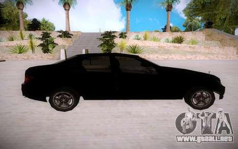 Mercedes-Benz C Class para GTA San Andreas left