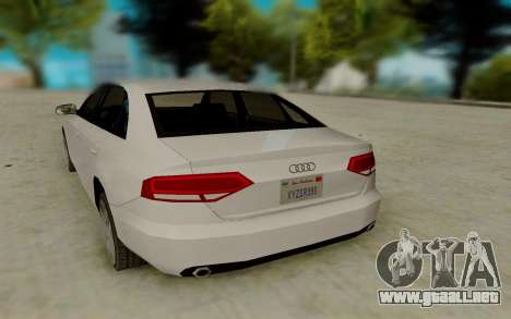 Audi A4 para la visión correcta GTA San Andreas