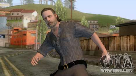 The Walking Dead - Rick Grimes para GTA San Andreas
