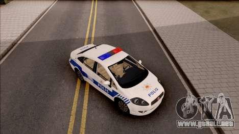Fiat Linea Turkish Police para GTA San Andreas