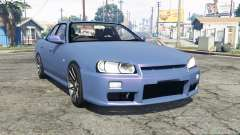 Nissan Skyline GT sedan (ER34) [replace] para GTA 5