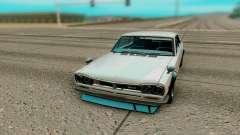 Nissan Skyline GT R Coupe 1969 para GTA San Andreas