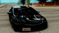 Honda Civic negro para GTA San Andreas