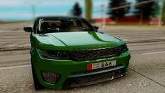 Land Rover Range Rover Sport Supercharged para GTA San Andreas