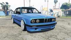 BMW M3 (E30) [replace] para GTA 5