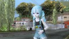 Happy Miku Skin para GTA San Andreas