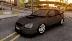 Subaru Impreza WRX STi de plata para GTA San Andreas