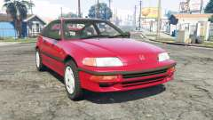 Honda CR-X (EF) 1991 para GTA 5