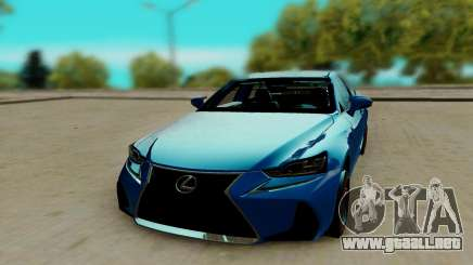 Lexus IS F Sport para GTA San Andreas