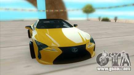 Lexus LC 500 para GTA San Andreas