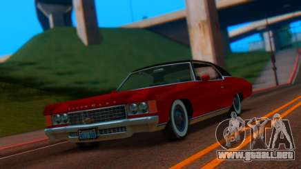 Chevrolet Impala 1971 Retextured para GTA San Andreas
