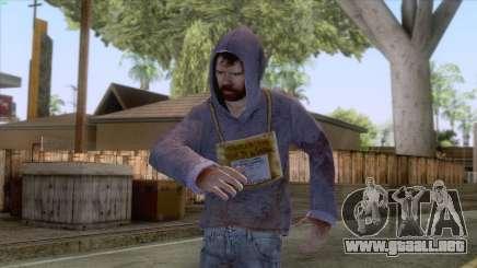 Hugo Chavez Frias Skin para GTA San Andreas