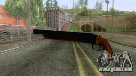 GTA 5 - Double Barrel Shotgun para GTA San Andreas