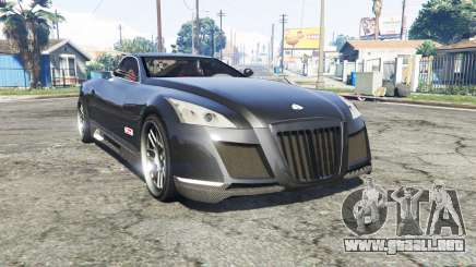 Maybach Exelero concept 2005 v0.5 [replace] para GTA 5