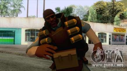 Team Fortress 2 - Demo Skin v1 para GTA San Andreas