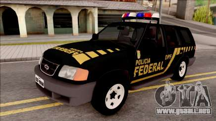 Chevrolet Blazer Federal Police of Brazil para GTA San Andreas