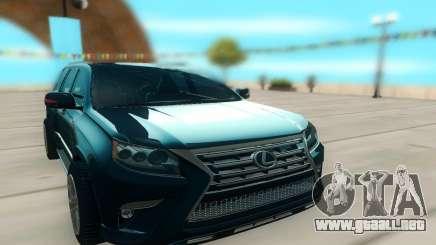 Lexus LX540 para GTA San Andreas