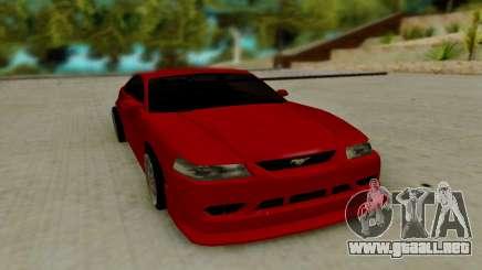 Ford Mustang Cobra SVT para GTA San Andreas