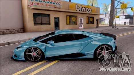 Lamborghini Huracan LB Team-eXtreme para GTA San Andreas
