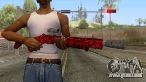 The Doomsday Heist - Pump Shotgun v1 para GTA San Andreas tercera pantalla