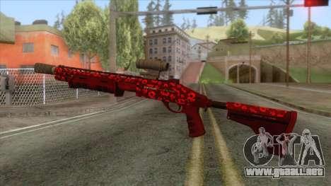 The Doomsday Heist - Pump Shotgun v1 para GTA San Andreas segunda pantalla