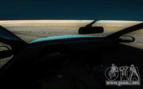 Toyota Hilux Sr5 2017 para visión interna GTA San Andreas