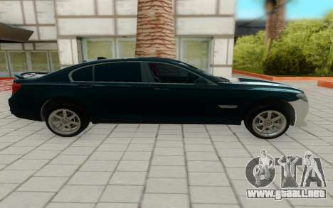 BMW 750i para GTA San Andreas left