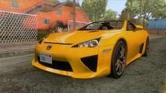 Lexus LFA Roadster 2013 para GTA San Andreas